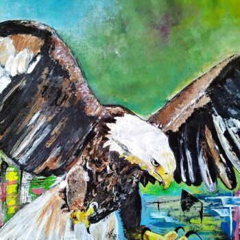"""""""eagle painting"""""""