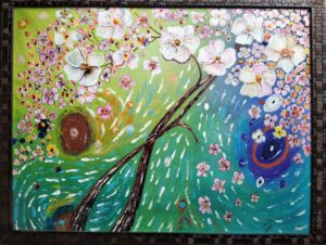 """""""flower painting"""""""
