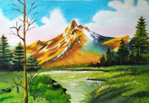 """""""mountains scenery"""""""