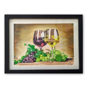 """""""grapes painting"""""""