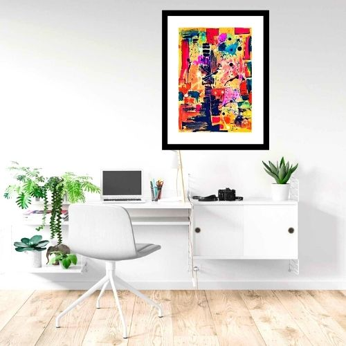 """""""abstract paintings for office"""""""
