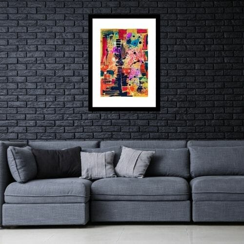 """""""abstract paintings for living room"""""""